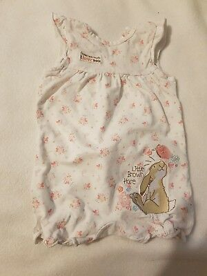 Guess How Much I Love You Cute Short Romper Baby Girl 3 - 6 months