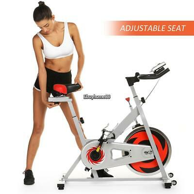 Pro Fitness Stationary Exercise Bike Cardio Workout Indoor Cycling Bicycle