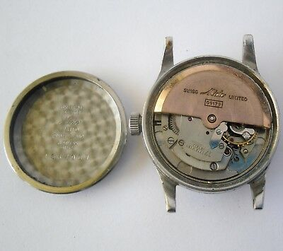 Mido Multifort 917P Super-Automatic Working Repair Mido 1950 Funciona Reparar