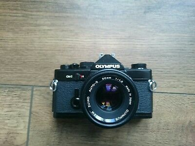 Olympus om2 with 50mm 1.8 zuiko lens