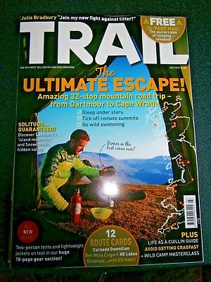 Trail Magazine July Issue 2018 With Free 24 Page Camping Revealed (new)