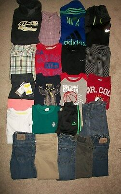 Lot 21 Boys Size 6 7 Fall Winter Namebrand Gymboree Old Navy Nike Ua Ralph Guc!