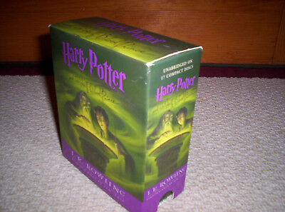 HARRY POTTER Vol. 6 THE HALF--BLOOD PRINCE--17 UNABRIDGED CDs--Audio Book