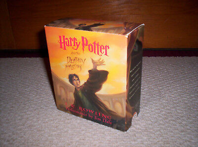 HARRY POTTER Vol. 7 THE DEATHLY HALLOWS--17 UNABRIDGED CDs--Audio Book
