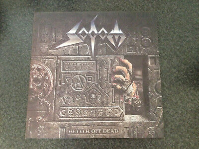 SODOM - Better Off Dead --Vinyl--Relief Cover