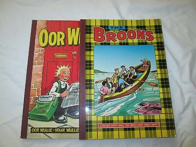 Oor Wullie 1983 AND The Broons 1984
