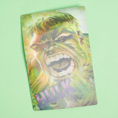 Loot Crate Exclusive Marvel Hulk Lenticular Holographic Print