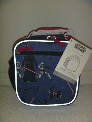 NEW Pottery Barn Kids Star Wars The First Order Classic Lunch Bag Box NO MONO