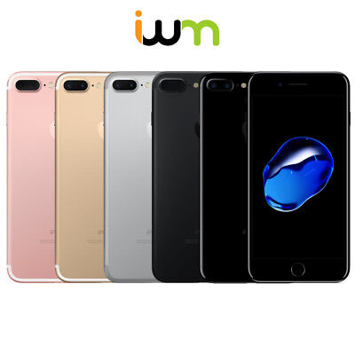 Apple iPhone 7 Plus 32GB 128GB 256GB - Black / Silver / Gold / Rose Gold / Red