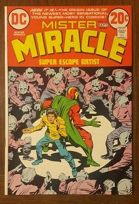 Mister Miracle 15 9.2 Nm- 1973 Dc Jack Kirby High Grade Pics Look
