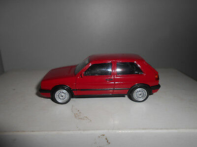 VOLKSWAGEN GOLF 2 GTi G60 1990 YOUNGTIMERS RED NOREV JET CAR 1:43