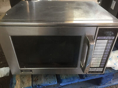 Sharp 1900w Commercial Microwave R-24AT