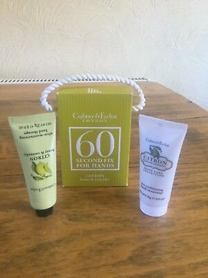 Crabtree and Evelyn 60 Second Fix for Hands Citron Honey and Coriander