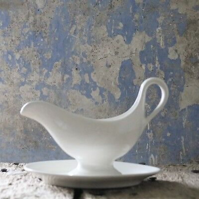 Antique French Ironstone Gravy Sauce Boat No 2
