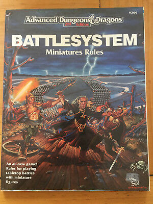 AD&D 2nd Edition Battlesystem Combat Rules