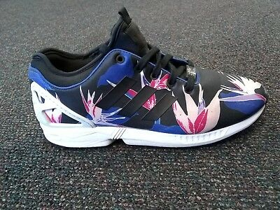 super popular 2c0ba 2ec13 Adidas Men s Original ZX FLUX NPS Shoes B34467 Graphic Floral Hawaiian Size  9.5