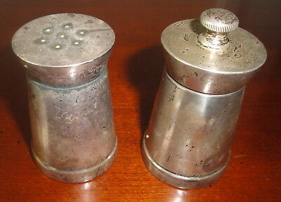 Antique Sterling Silver Salt and Pepper Shakers by Black Starr, Gorham