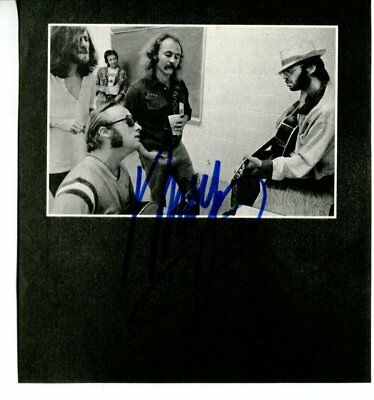 NEIL YOUNG autograph SIGNED 888