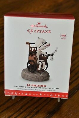 2016 Hallmark Keepsake DR. FINKLESTEIN NIGHTMARE before CHRISTMAS * FREE SHIP