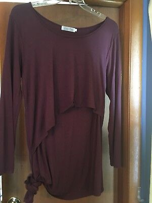 Latched Mama Nursing long sleeveTop XXL Front Access