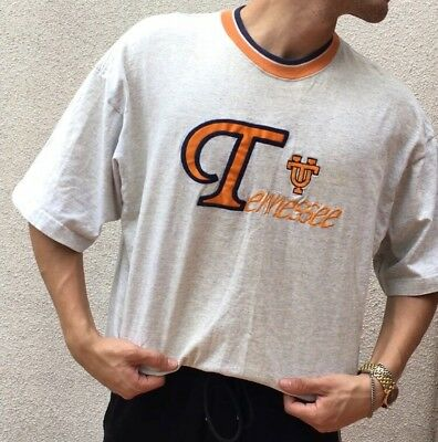 University Of Tennessee Knoxville Vintage 90s Embroidered T-Shirt Adult XL
