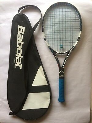 BABOLAT PURE DRIVE LITE - tennis racquet racket - Strung with Cover and overgrip