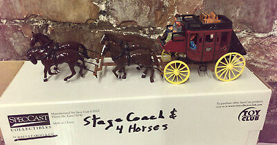 WELLS FARGO STAGECOACH DIECAST MODEL SpecCast Collectibles