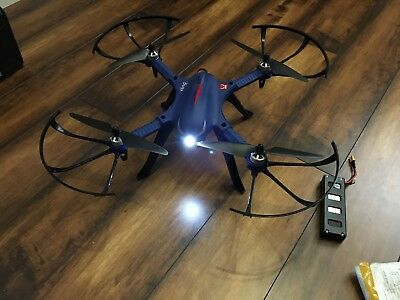 DROCON Monster Blue Bugs 3 High-Speed MJX Quadcopter Drone with brushless motor