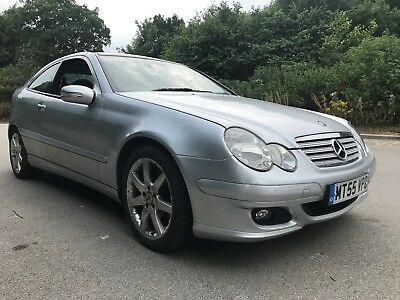 2005 55 MERCEDES C200 CDi SE AUTO COUPE LOW MILES SPARES OR REPAIRS 1 OWNER