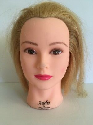 Bellrino Cosmetology Mannequin - Model Amelia - Blond Human Hair