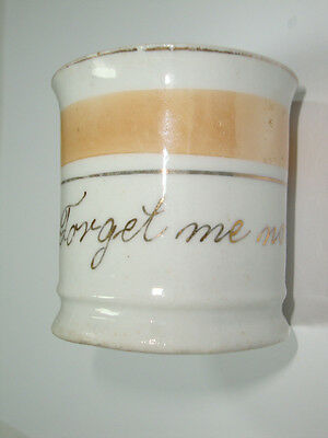 * New Lower Price * Antique Butterscotch* Forget Me Not * Remembrance Cup