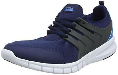 (TG. 45 EU) Gola Gravity, Scarpe Sportive Indoor Uomo, Blu (Navy/Dark Grey/Blue