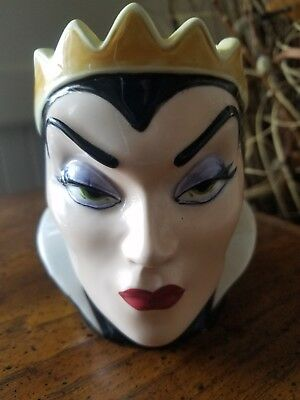 Vintage Disney Snow white Porcelain Evil Queen Face Cup