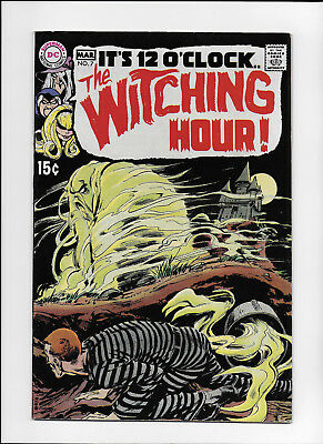 Witching Hour #7 - High Grade - Neal Adams Cover -  Alex Toth Art - 1970