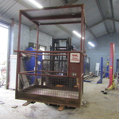 """2 Person Forklift Man Work Cage 5Ft X 3' 4"""""""