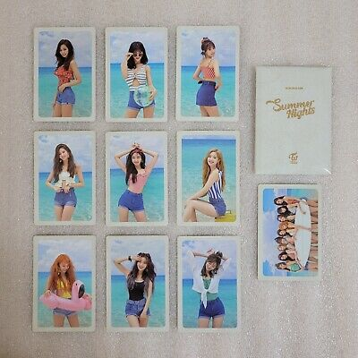 TWICE Summer Special 2nd Album Preorder Photocard B Ver. Select Member