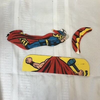 1966 Topps Marvel Flyers Thor Glider Original Package Not Assembled