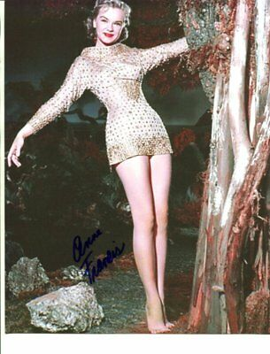 forbidden planet ANNE FRANCIS autograph HAND SIGNED 1056