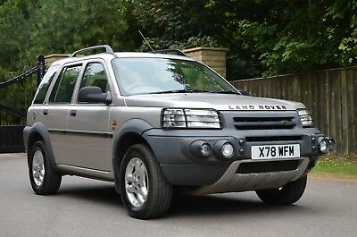2000 Landrover Freelander 2.5 V6 Se Auto Only 56K Investment Collectable