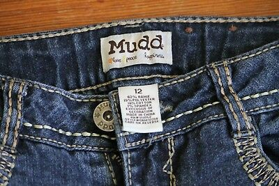 Mudd Girl's adjustable waist jeans size 12, great condition