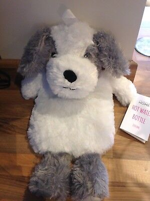 Brand New doggy  hot water bottle with tags attached