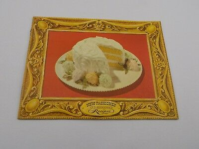 New Fashioned Old  Recipes Vintage Arm Hammer Cow Brand Promotional Cookbook