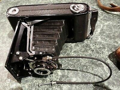 Zeiss Ikon Folding Bellows Camera with carry case.