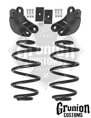 4 Rear Drop Leveling Lowering Hangers Shackles Ford F 150 F150 1980