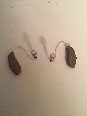 Set Of Resound Linx 5 Made For Iphone/android Ric Hearing Aids Ln561-Drw