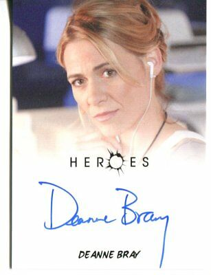 HEROES actor DEANNE BRAY autograph HAND SIGNED 1235
