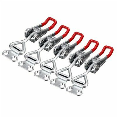 5PC Adjustable Toggle Clamp Pull Action Latch Hand 100KG/220lbs Capacity I4H4