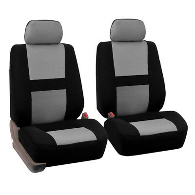 2X Universal Car Seat Covers Front&Rear Seat Back Head Rest Protector 4Season AU