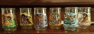 1998 Welch's Jelly Lion King  All 6  Perfect Condition