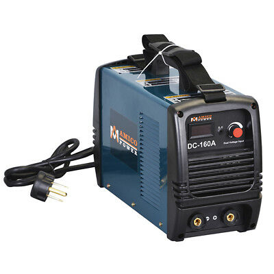 S160-AM, 160 Amp Stick Arc DC Inverter Welder 110V & 230V Dual Voltage Welding